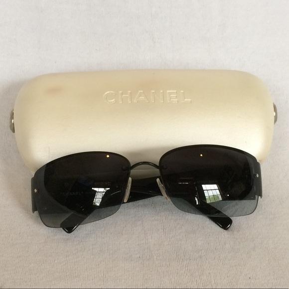 d6711535fbb Chanel Black   Bling Sunglasses